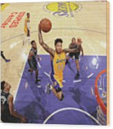 Brandon Ingram Wood Print