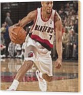 Brandon Roy Wood Print
