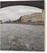 Bridge across the Fontanka River Wood Print
