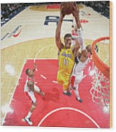 Brook Lopez Wood Print