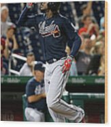 Cameron Maybin Wood Print