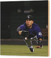 Carlos Gonzalez and Pete Kozma Wood Print