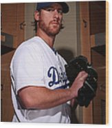 Chad Billingsley Wood Print
