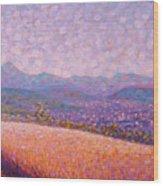 Chaine des Puys Wood Print