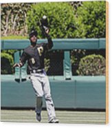 Chase Utley and Starling Marte Wood Print