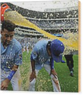 Cheslor Cuthbert and Raul Mondesi Wood Print