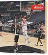 Chicago Bulls v LA Clippers Wood Print