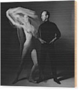 George Balanchine And Suzanne Farrell In  Don Quixote Wood Print