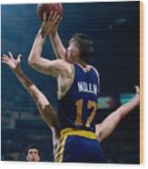 Chris Mullin Wood Print