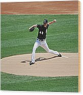 Chris Sale Wood Print