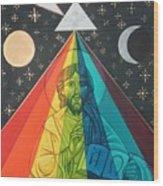 Christ the Light Wood Print