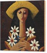 Cinco Margaritas Wood Print