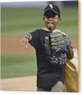 Cleveland Indians v Chicago White Sox Wood Print