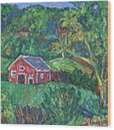 Clover Hollow in Giles County Wood Print