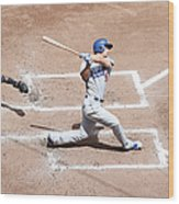 Corey Seager Wood Print
