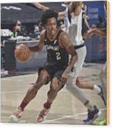 Dallas Mavericks v Cleveland Cavaliers Wood Print