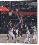 Dallas Mavericks v LA Clippers - Game One Wood Print