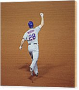 Daniel Murphy and Fernando Rodney Wood Print