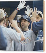 David Dejesus Wood Print