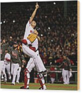 David Ross and Koji Uehara Wood Print