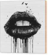 Dead love Wood Print