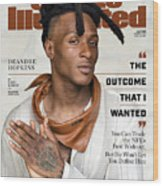DeAndre Hopkins, May 2020 Sports Illustrated Cover Wood Print