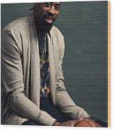 Deandre Jordan Wood Print