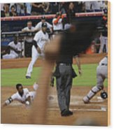 Dee Gordon and Andrew Susac Wood Print