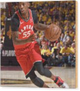 Delon Wright Wood Print