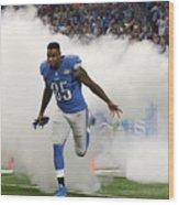 Denver Broncos v Detroit Lions Wood Print