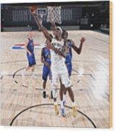 Denver Nuggets v New Orleans Pelicans Wood Print