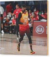 Denver Nuggets v Utah Jazz Wood Print