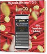 Deposit Minimal 10000 Ribu Di Situs Poker Online Terpercaya Mixed Media By Aktifqq