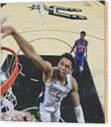 Detroit Pistons v San Antonio Spurs Wood Print
