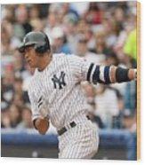 Detroit Tigers V New York Yankees Wood Print