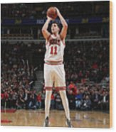 Doug Mcdermott Wood Print