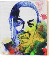 Dr. Dre Watercolor Wood Print