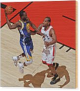 Draymond Green and Kawhi Leonard Wood Print
