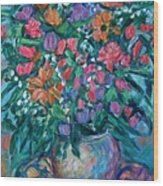 Dream Bouquet Wood Print