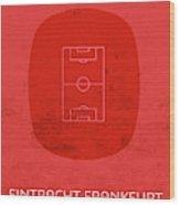 Eintracht Frankfurt Stadium Football Soccer Series Wood Print