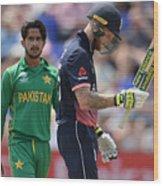 England v Pakistan - ICC Champions Trophy Wood Print