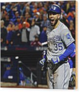 Eric Hosmer and Jeurys Familia Wood Print