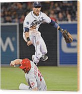 Everth Cabrera and Chris Heisey Wood Print