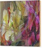 Floral Inspiration Wood Print
