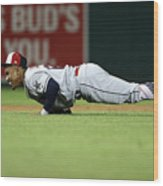 Francisco Lindor Wood Print