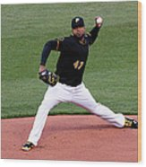 Francisco Liriano Wood Print