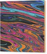 Genesis Four Wood Print
