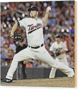 Glen Perkins Wood Print