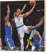 Golden State Warriors v New York Knicks Wood Print
