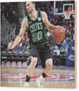 Gordon Hayward Wood Print